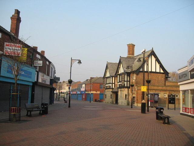 Widnes Town Centre
